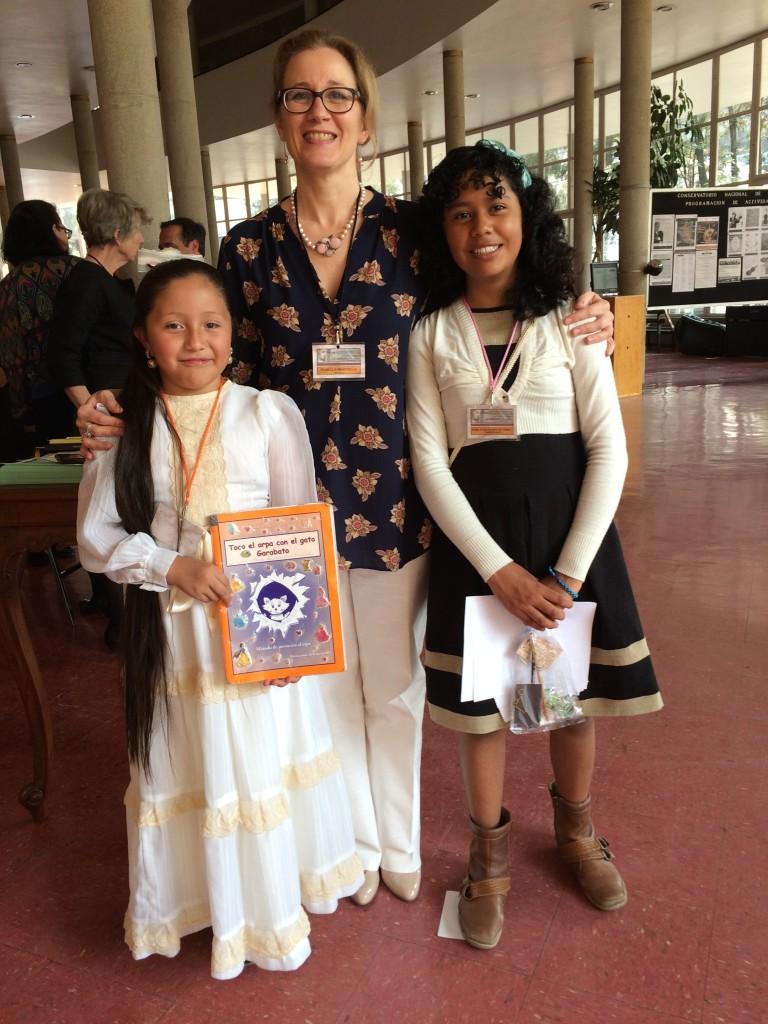 Mexico 2016, avec deux jeunes lauréates